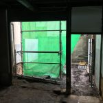 福山市鞆町の空き家再生プロジェクト第3弾!~vol.5足場組み立て
