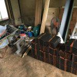 福山市鞆町の空き家再生プロジェクト第3弾!~vol.8屋根の修繕工事完了、瓦葺き開始