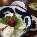 鞆の浦ちりめんグルメ2018「#2 あぶり鯛丼とちりめん冷や汁」~季節料理 衣笠