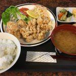 福山市東手城町のランチ「お食事処ここち」~16種のランチメニューから鶏肉唐揚を