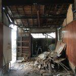 福山市鞆町の空き家再生プロジェクト第4弾!~vol.3 壁、床、天井の撤去
