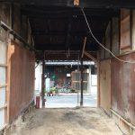 福山市鞆町の空き家再生プロジェクト第4弾!~vol.4 スケルトン状態