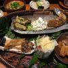 福山市三吉町のランチ「おばんざい木むら」~1種類の和ランチ。家庭料理という創作料理(月・火・水曜日限定ランチ)