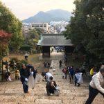 平成30年最後、第88回とも・潮待ち軽トラ市と沼名前神社の一斉清掃