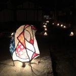 鞆の津宵びな2019~常夜灯付近、太田家住宅の敷地内や周辺で開催