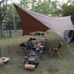 【キャンプ】経ヶ丸オートキャンプで親子キャンプ(4回目)~岡山県井原市の初心者向けキャンプ場