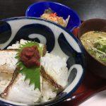【ランチ】鞆の浦ちりめんグルメ2019「#2 あぶり鯛丼とちりめん冷や汁」~季節料理 衣笠
