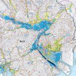 【防災】福山市の洪水ハザードマップ~堤防決壊の洪水予測と避難場所の階数も記載