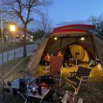 【キャンプ】吉井竜天オートキャンプ場でファミリーキャンプ(19回目)~岡山県赤磐市にある初心者向けキャンプ場