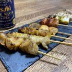 【テイクアウト】福山市南町の「串や」のおまかせ10本盛り~おうちで焼き鳥 居酒屋気分