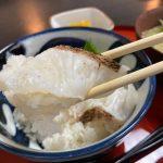 【ランチ】福山市鞆町の季節料理衣笠~あぶり鯛丼とちりめん冷や汁
