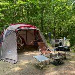 【キャンプ】休暇村 帝釈峡くぬぎの森オートキャンプ場でファミリーキャンプ(20回目)~広島県庄原市にある初心者向けキャンプ場