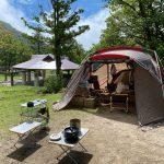 【キャンプ】鏡ヶ成(かがみがなる)キャンプ場でファミリーキャンプ(24回目)~鳥取県日野郡江府町にあるキャンプ場
