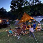 【キャンプ】秋吉台オートキャンプ場でファミリーキャンプ(24回目)~山口県美祢市美東町にあるキャンプ場