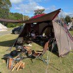 【キャンプ】西山高原キャンプ場でファミリーキャンプ(25回目)~岡山県高梁市にあるキャンプ場