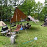 【キャンプ】蒜山高原キャンプ場でファミリーキャンプ(22回目)~岡山県真庭市蒜山にあるキャンプ場