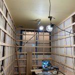 【トイレ】工場に女性専用トイレを新設!vol.4~壁下地造作工事