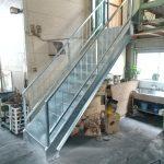 【鉄製階段】工場の階段架け替え工事~サンモルトはこんな仕事もやってますシリーズvol.2
