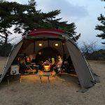 【キャンプ】弥高山公園キャンプ場でファミリーキャンプ(30回目)~岡山県高梁市にあるキャンプ場