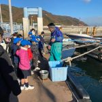 【わかめ養殖】鞆の浦学園の児童たちが植え付けを体験!~2月に収穫予定