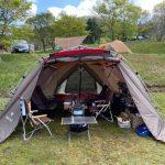 【キャンプ】らかん高原オートキャンプ場でファミリーキャンプ(36回目)~山口県岩国市錦町にあるキャンプ場