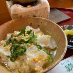 【ランチ】福山市鞆町の魚処「鯛亭」~鯛茶漬け