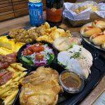【テイクアウト】水呑カフェボヌーのオードブルA+唐揚げバスケット~4,5人家族のディナーにおすすめ!